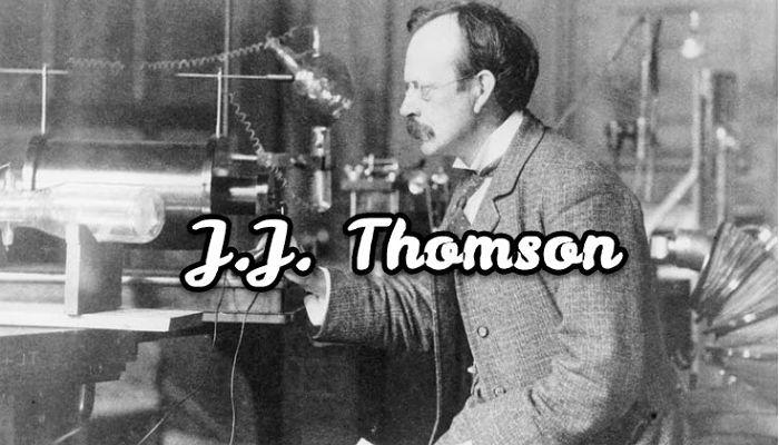 biografía de J. J. Thomson