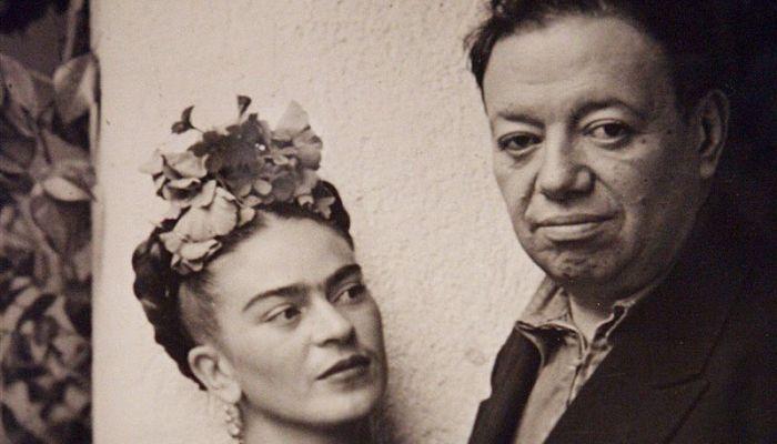 Frida y Diego Rivera