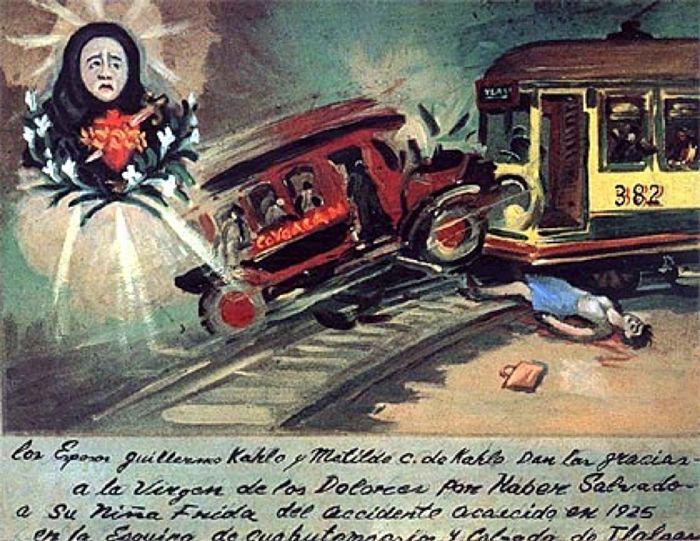 Obra de Frida Khalo Retablo (1943)