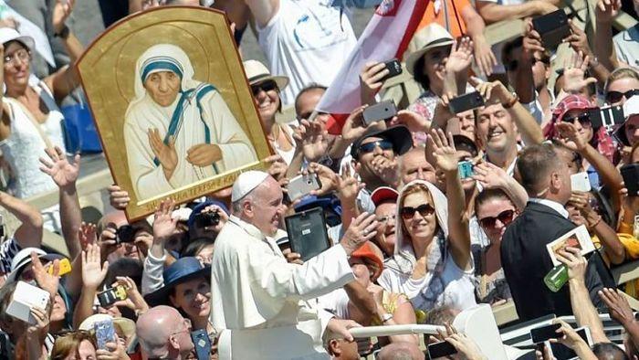 Beatificación de la Madre Teresa de Calcuta