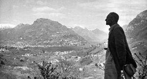 I Guerra Mundial y su Huida a Suiza