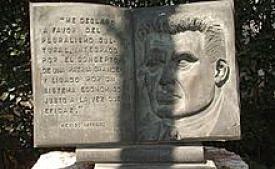 Muerte de Moisés Sáenz Garza