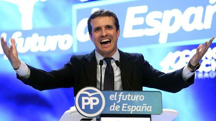 Pablo Casado: Presidencia del PP